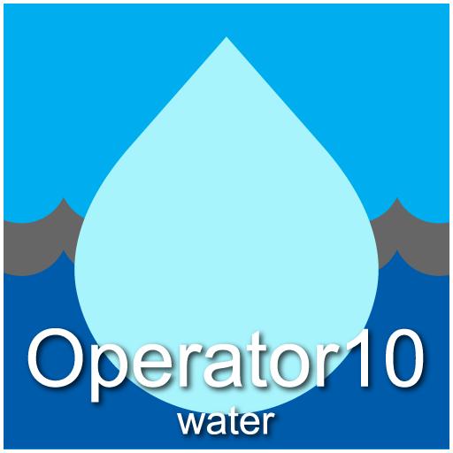 Operator10 Water Logo