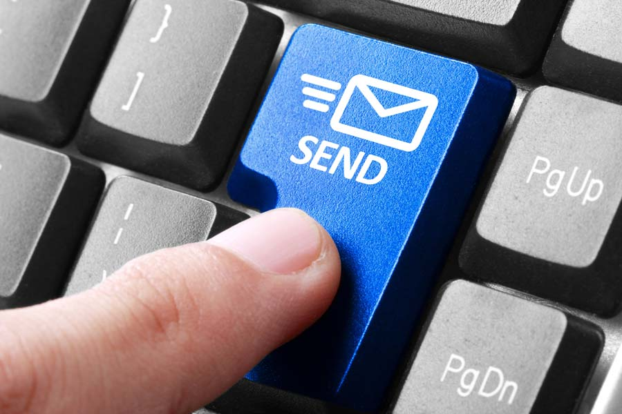 Send an email message.